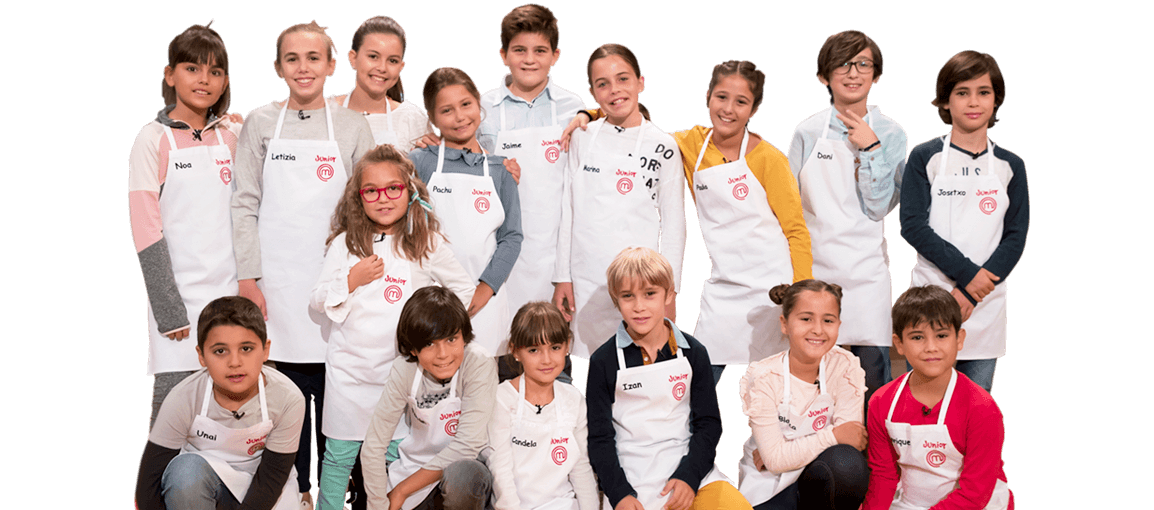Concursantes MasterChef Junior 2019